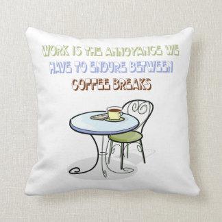 Coffee Break Pillow