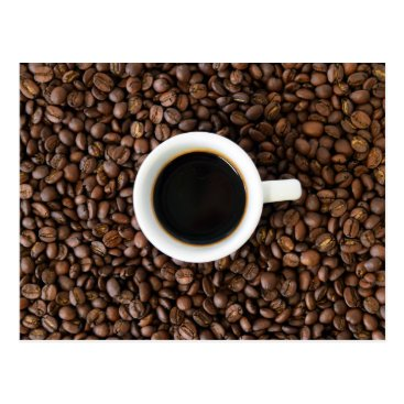 Coffee Themed Coffee break postcard