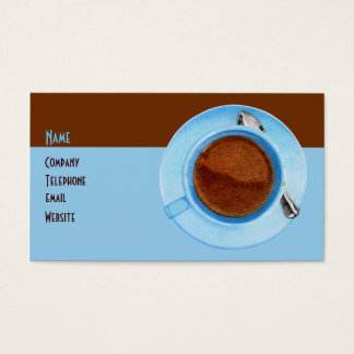 Coffee Break Profile Card