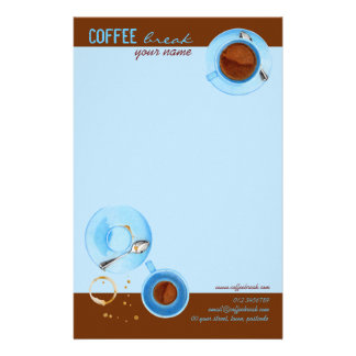Coffee Break Stationery