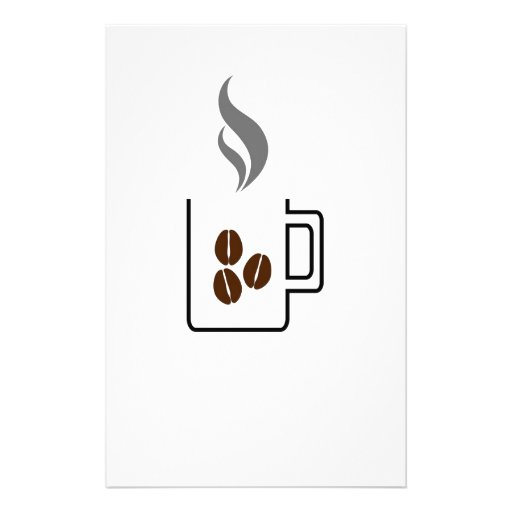 Coffee break stationery