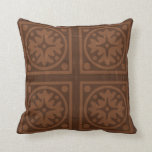 Coffee Brown Solid color  Pillow