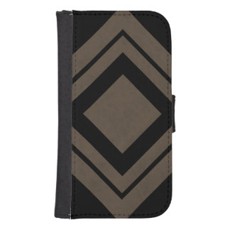 Coffee Brown Velvet Personalized Home Casino Samsung S4 Wallet Case