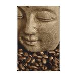 Coffee Buda Lienzo Envuelto Para Galerias