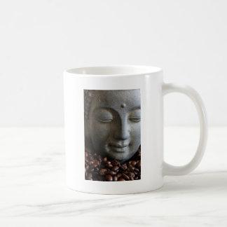 Coffee Buda Taza Básica Blanca