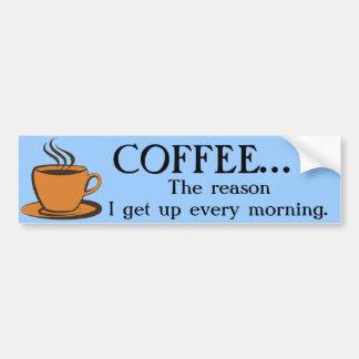 coffee bumper sticker