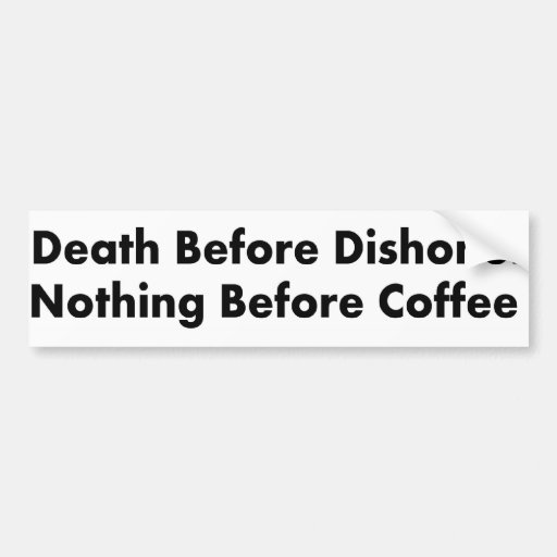 Coffee Bumper Stickers