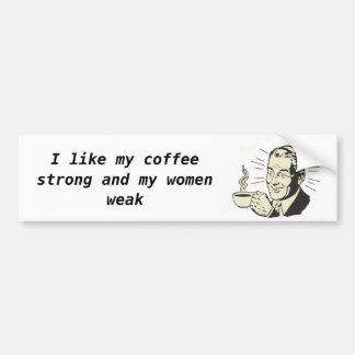 coffee bumpersticker bumper stickers