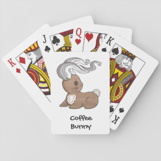 Coffee Bunny Playing Cards
