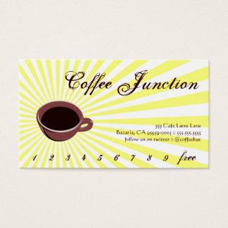 Coffee Burst Drink Punch / Loyalty Card