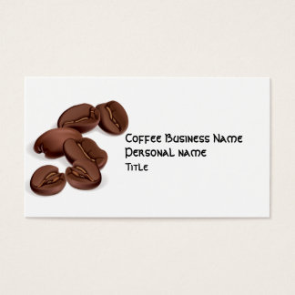 Coffee Business Business Card