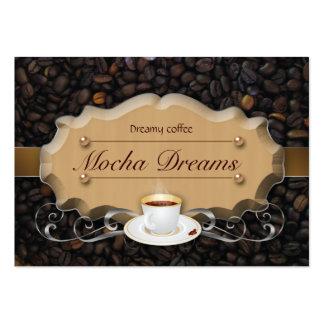 Coffee Business Card Beans 'n Latte Caramel