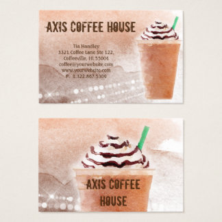 Coffee Business Card Specialty