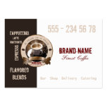 COFFEE - Business-, Profile Card Business Card Templates