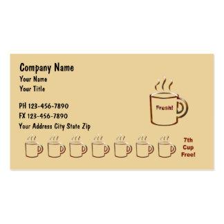 Coffee Businss Cards Business Card