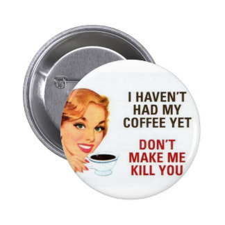 coffee pinback buttons