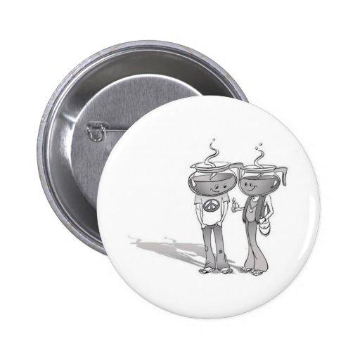 Coffee Button Boton