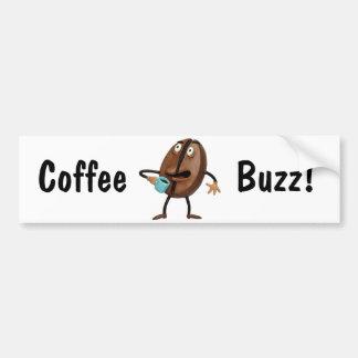 Coffee Buzz Bumper Sticker