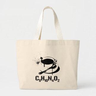 Coffee C8H10N4O2 Canvas Bag