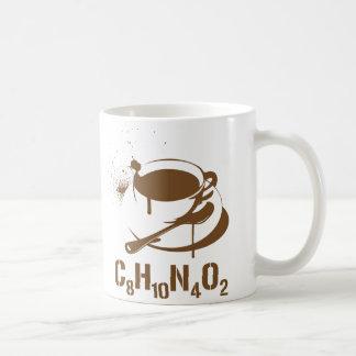 Coffee C8H10N4O2 Classic White Coffee Mug