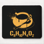 Coffee C8H10N4O2 Mouse Pad