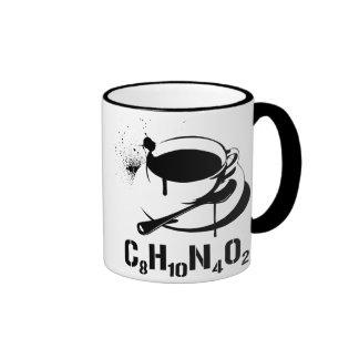 Coffee C8H10N4O2 Ringer Coffee Mug