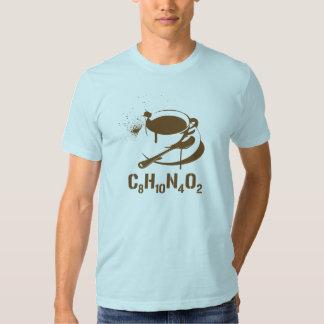 Coffee C8H10N4O2 Shirts