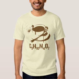 Coffee C8H10N4O2 Tee Shirts