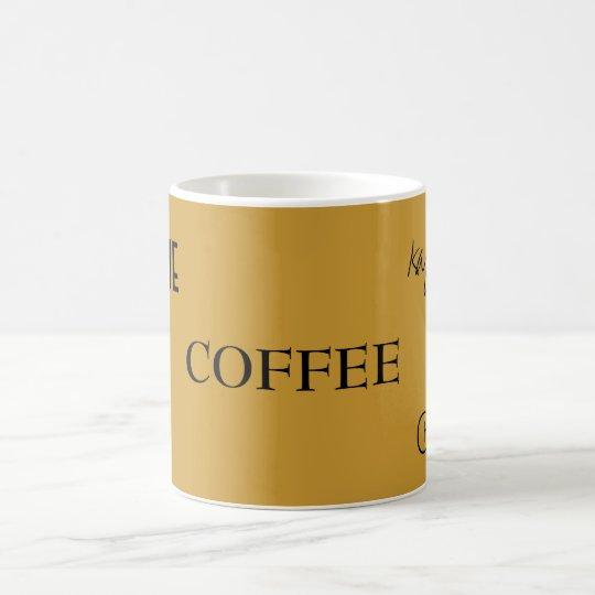 COFFEE,  Caf, koffie, kaffee, caff Coffee Mug