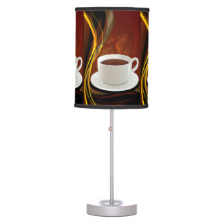 Coffee Cafe Art Desk Lamp