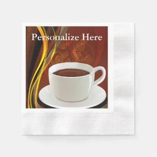 Coffee Cafe Art Paper Napkin