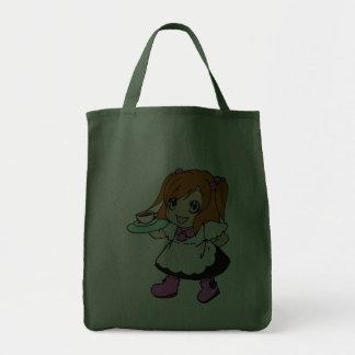 Coffee , cafe , girl , maid bag