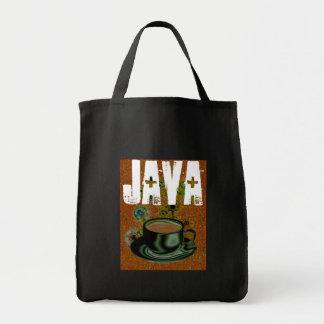 Coffee / Caffeine / Java Junky Grocery Tote Bag