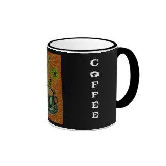 Coffee / Caffeine / Java Junky Ringer Coffee Mug