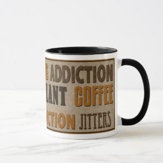 COFFEE - CAFFEINE MUG - TEXT