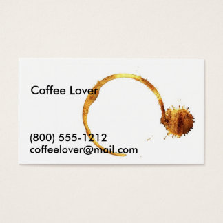 Coffee Calling Card