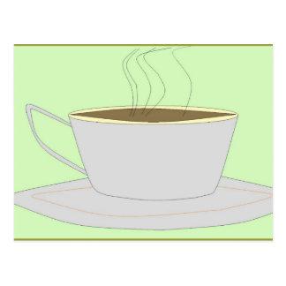 Coffee Calm Postcard