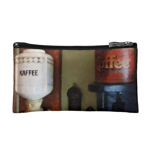 Coffee Can and Coffee Grinder Makeup Bags