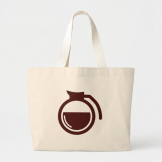 Coffee Can Large Tote Bag