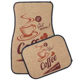 Coffee Car Mat