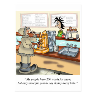 Coffee Cartoon 9391 Postcard