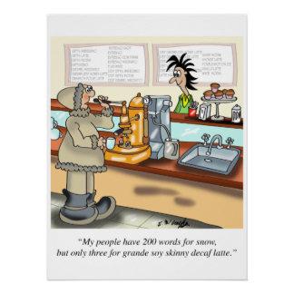 Coffee Cartoon 9391 Poster