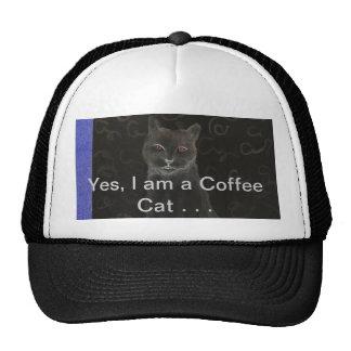 Coffee Cat - CricketDiane Art Cat Products Trucker Hat