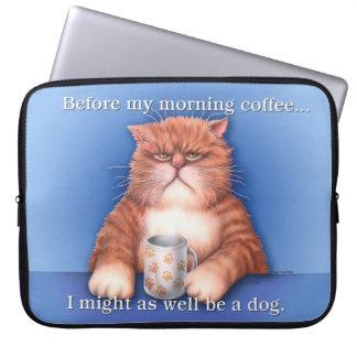 Coffee Cat Lap Top Bag