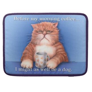 Coffee Cat MacPro Bag MacBook Pro Sleeve
