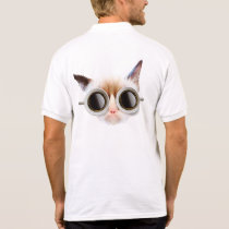 Coffee Cat Polo Shirt