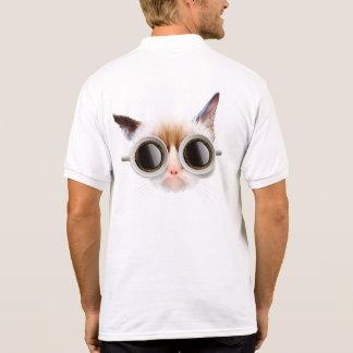 Coffee Cat Polo Shirt