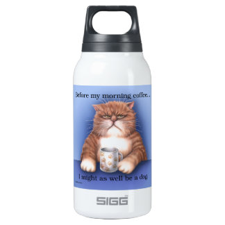 Coffee Cat SIGG Thermo 0.3L Insulated Bottle