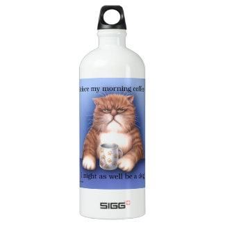 Coffee Cat SIGG Traveler 1.0L Water Bottle