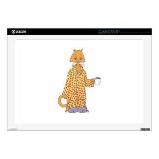 Coffee Cat Laptop Decals